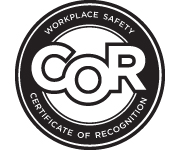 Certificate of Recognition - Workplace Safety